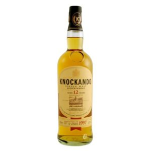 WHISKY KNOCKANDO 70 CL.