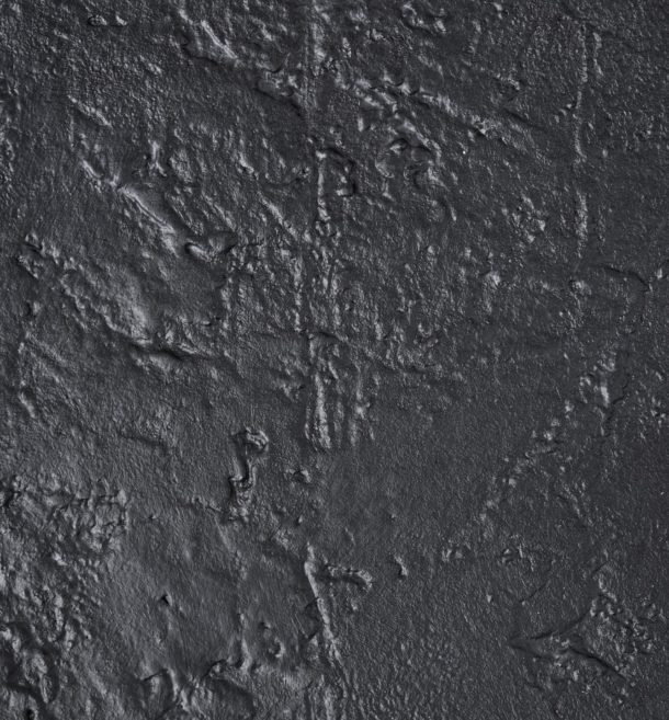Black concrete stone background